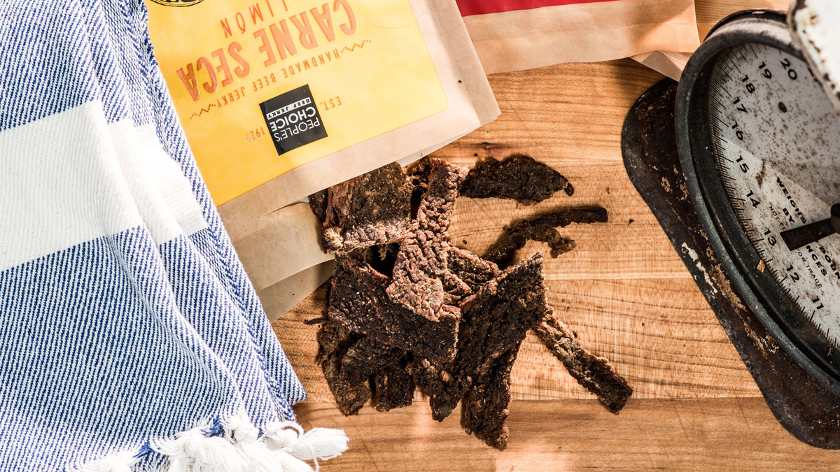 26 Pounds of People's Choice Beef Jerky