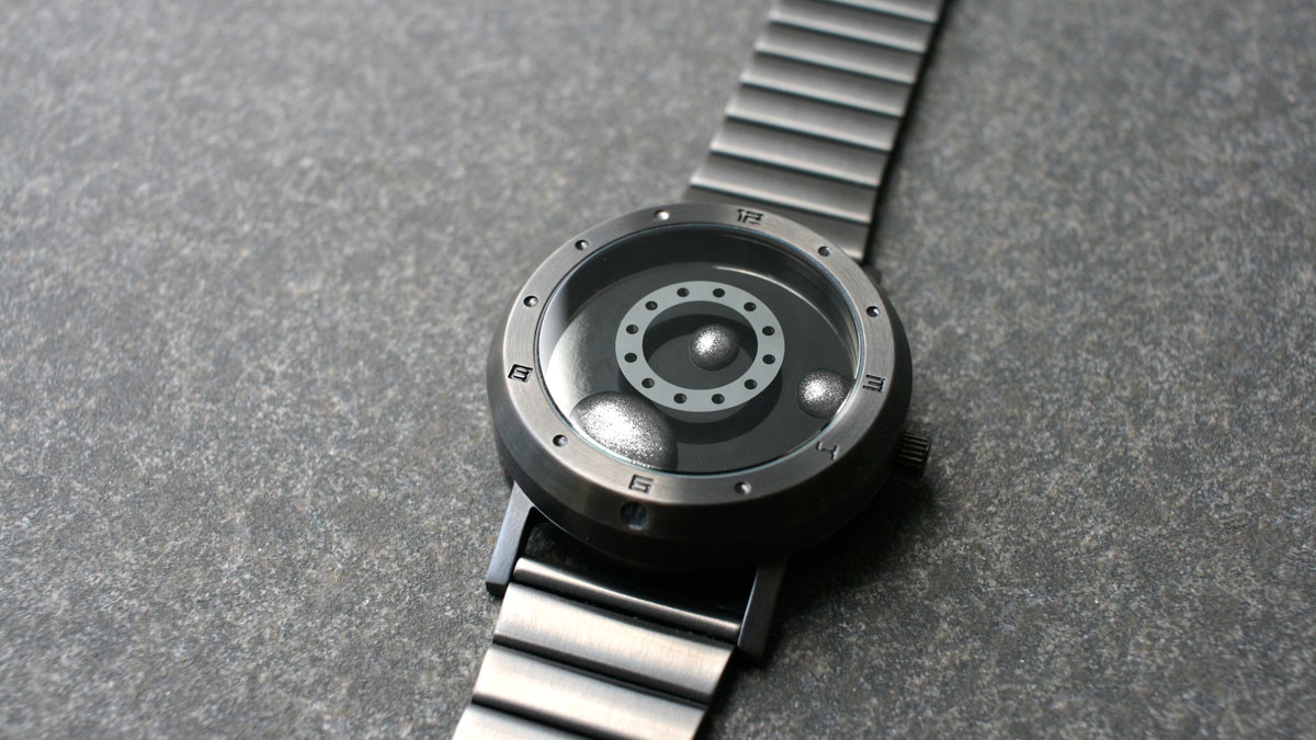 "Liquid Metal ""Terminator"" Watch"