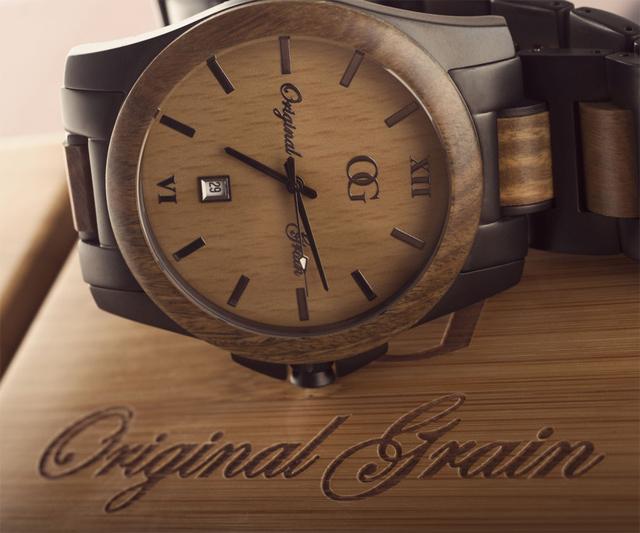 Giveaway Original Grain Wood Watches Dudeiwantthat Com