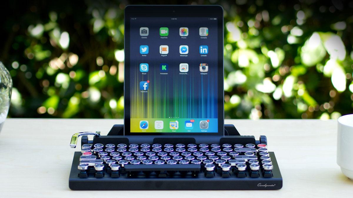 """Qwerkywriter - Wireless """"Typewriter"""" Keyboard"""