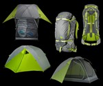 Kelty TraiLogic Tent & Zipperless Backpack