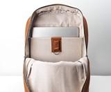 Capra Handmade Leather Backpack & Rain Cover
