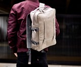 Capra Handmade Leather Backpack & Rain Cover