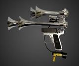 Deaf Leopard Train Horn Gun