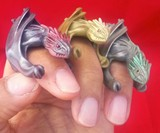 Game of Thrones Dragon Rings & Eggs