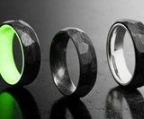 Pair of Carbon6 Forged Carbon Fiber Rings