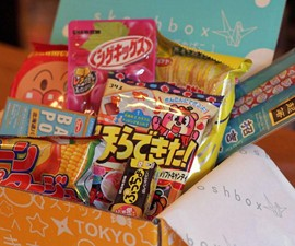1 Year of Skoshbox Japanese Treats