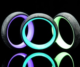 Carbon6 Forged Carbon Fiber Rings