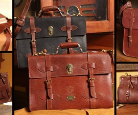 Col. Littleton American Leather Bag