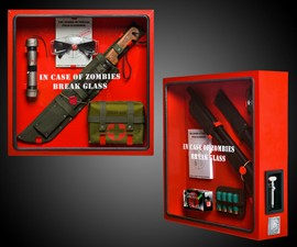 In Case Of Zombie Cabinet Package