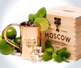 Moscow Copper Co. Mule Mugs & Flask