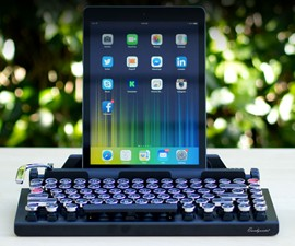"Qwerkywriter - Wireless ""Typewriter"" Keyboard"
