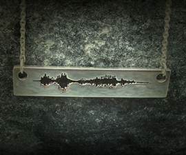 Soundwave Personal Voice Message Pendants