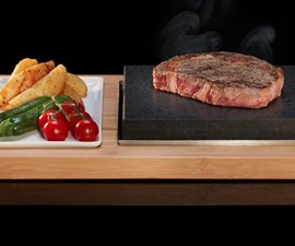 SteakStones Sizzling Steak Plate Set