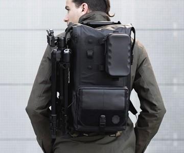 Black Ember Modular Backpack