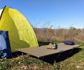 GO-KOT Cordura Camping Cot Set