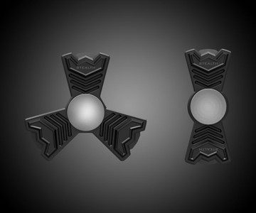 Stealth Fidget Spinner Aventador & B2 Set