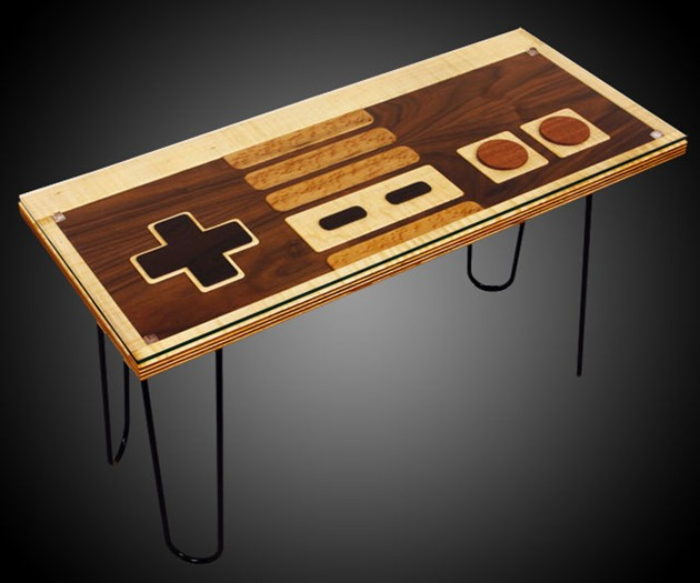 Giveaway: Nintendo Controller Coffee Table