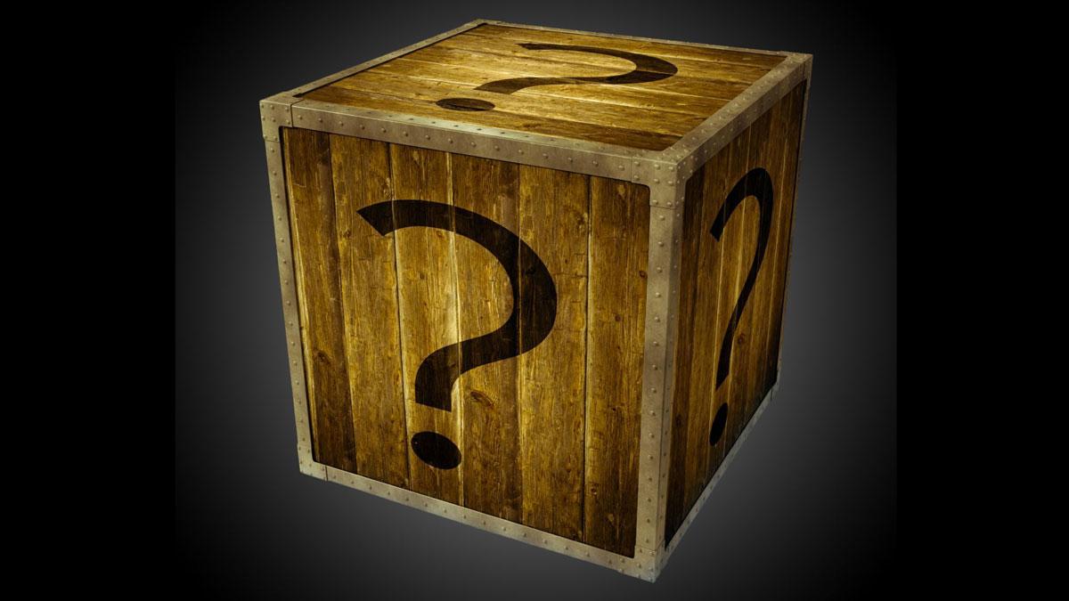 Super Bowl Mystery Box