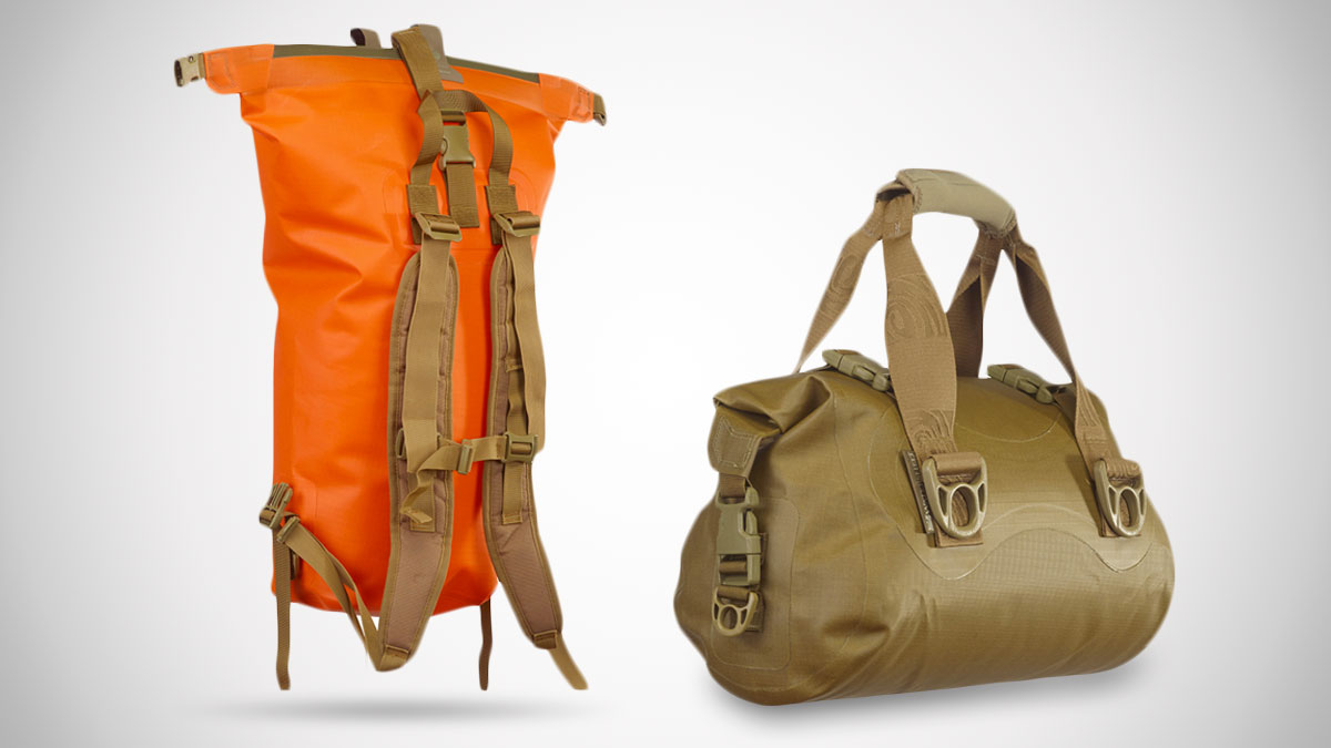 Watershed Drybags Big Creek Backpack & Ocoee Duffel