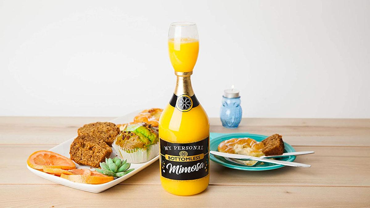 Bottomless Mimosa Glass
