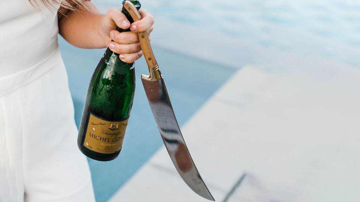 California Champagne Saber Company Sabrage Swords