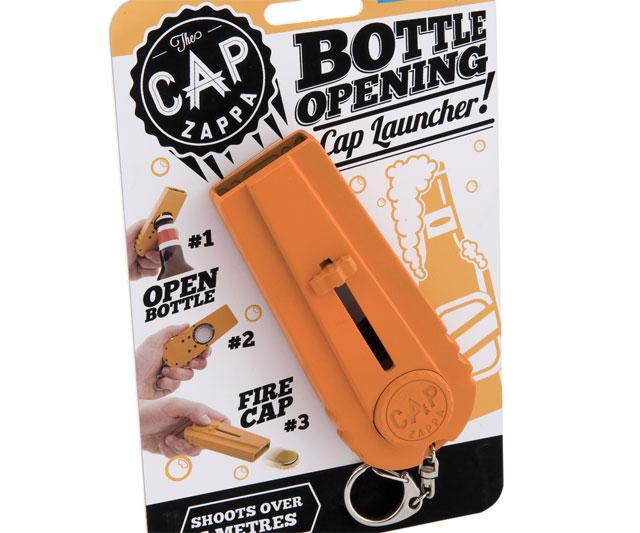 Cap Zappa Bottle Opener Amp Cap Launcher Dudeiwantthat Com