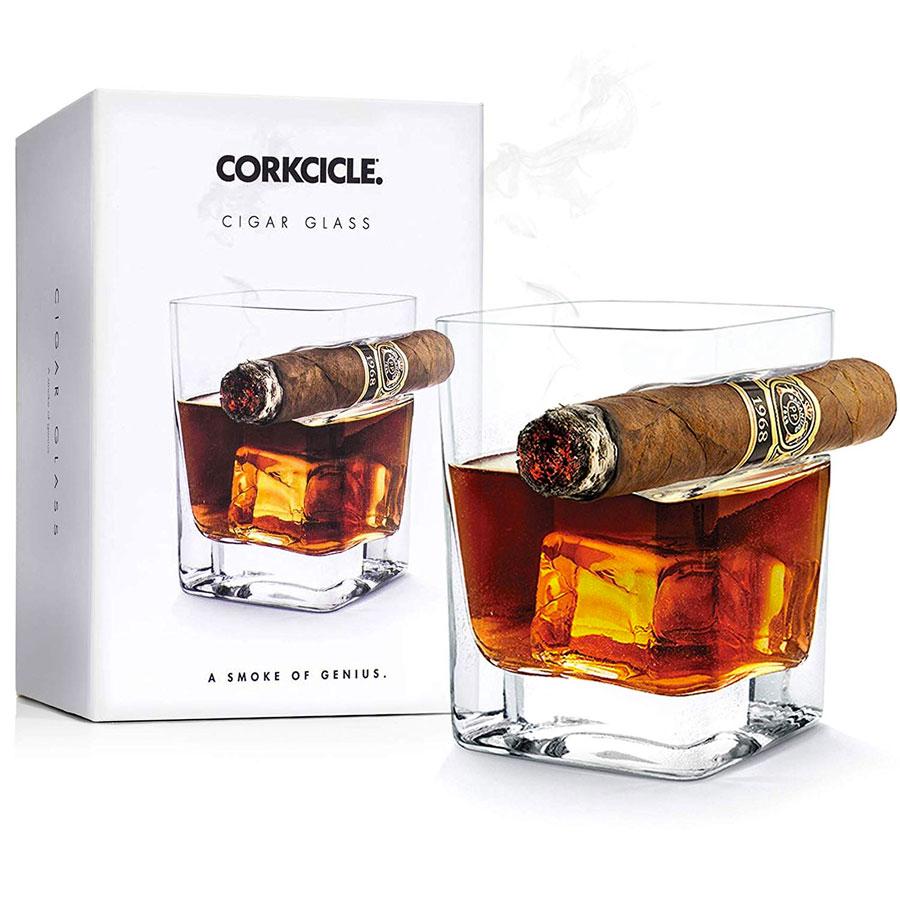 Corkcicle Cigar Holder Glass | DudeIWantThat.com