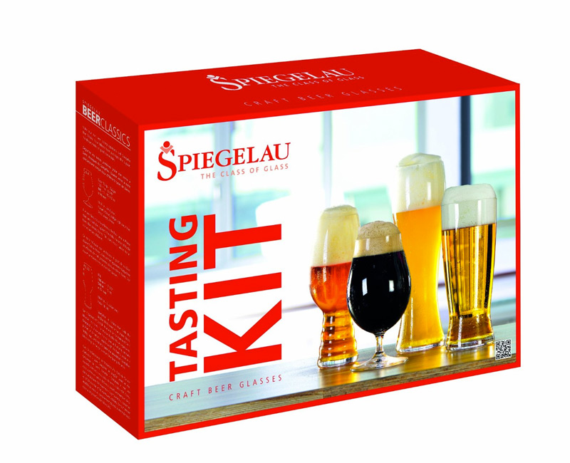 Craft beer glass tasting kit for Craft beer brewing kit