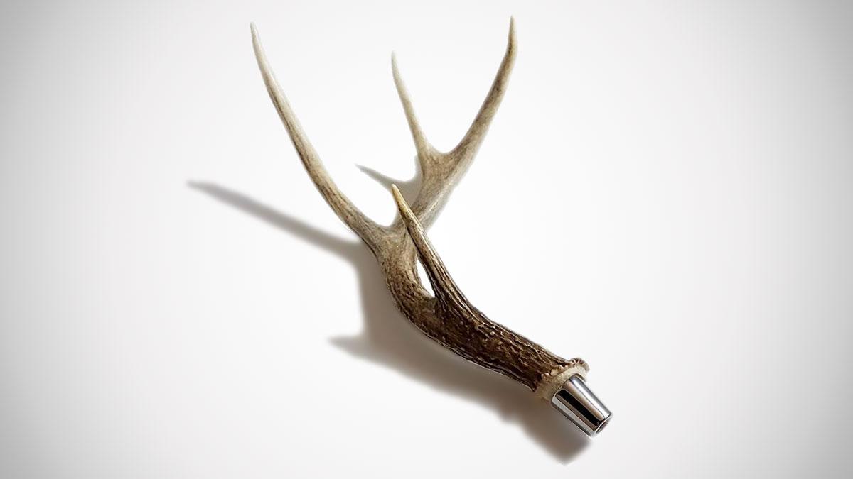 Deer Antler Beer Tap Handle
