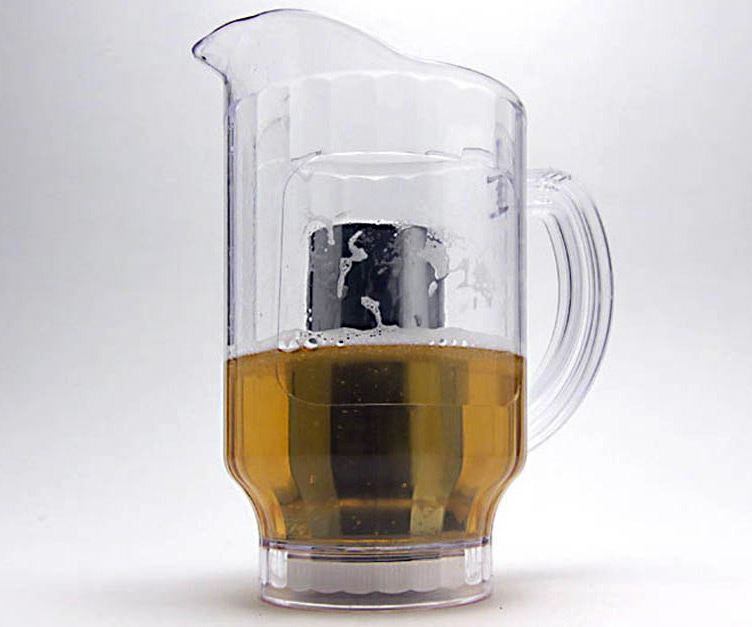 ice core beer pitcher. Black Bedroom Furniture Sets. Home Design Ideas