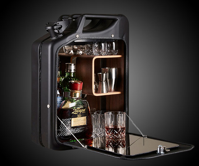 Jerry Can Bar Cabinet | DudeIWantThat.com