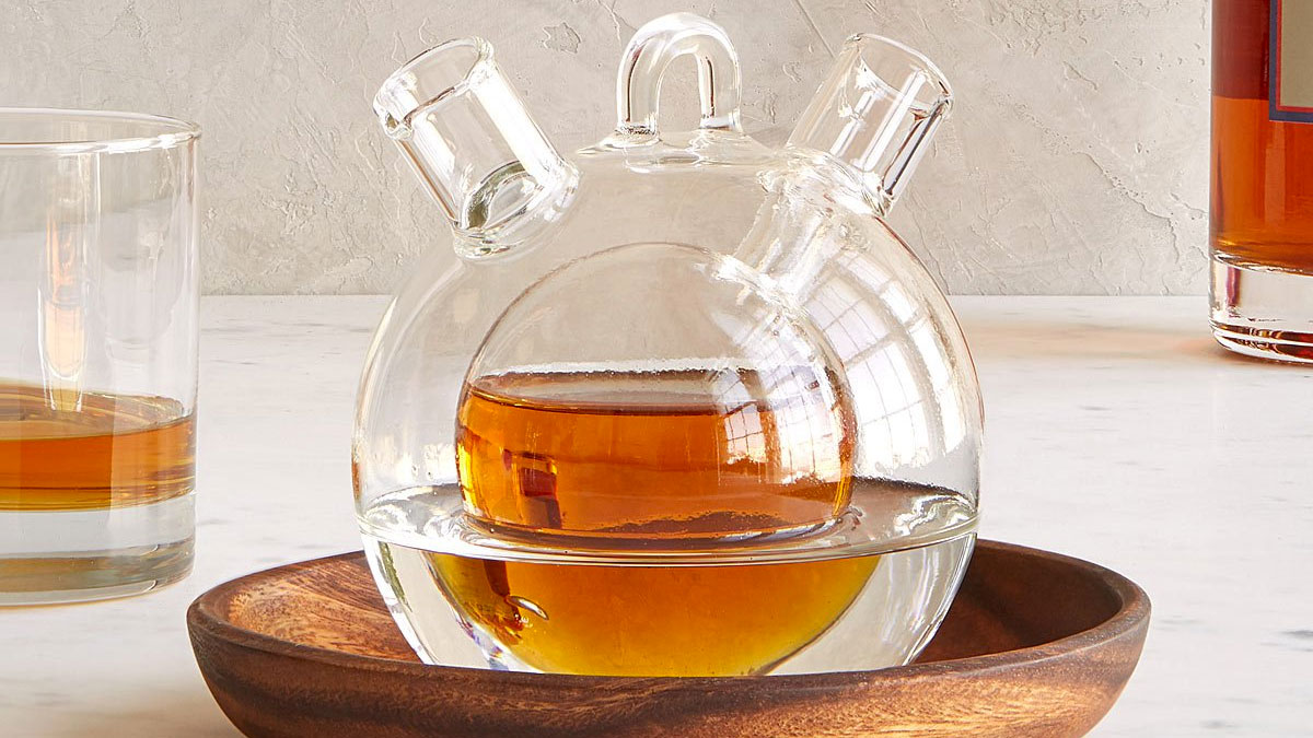 Personal Whiskey & Water Decanter