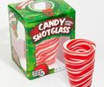 Candy Cane Edible Shot Glasses