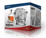 Glass Skull Ice Bucket in Box