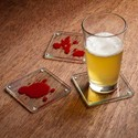 Dexter Blood Spattered Coasters