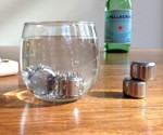 Pucs Stainless Steel Ice Cubes