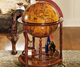 16th-Century Italian Old World Globe Bar
