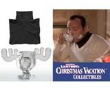 Christmas Vacation Glass Moose Mug
