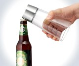 Bottle Opener Beer Glass