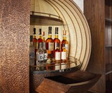 Dime Wall-Mounted Bar Cabinet