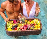 Floating Pool Bar & Serving Tray