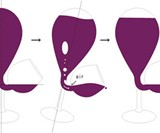Glass Tank Self-Filling Wine Glass