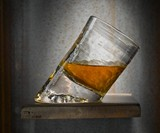 Handmade Slanted Bar Glass