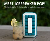 ICEBREAKER POP Pull & Serve Ice Cube Tray