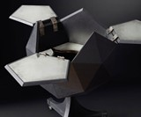 Polyhedron Bar Cart