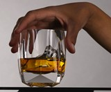 Rauk Heavy Tumbler - Crystal Whiskey Glass