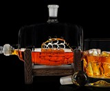 Ship in a Bourbon Barrel Decanter
