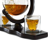 Skull Decanter Set with Skull Shot Glasses
