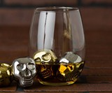 Skull Head Whiskey Ice Cubes